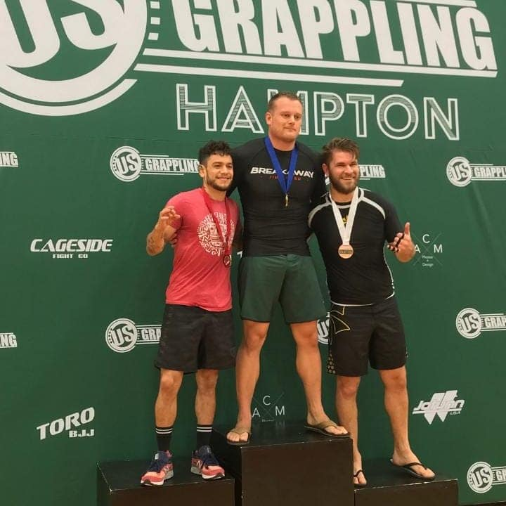 Jiu Jitsu Instructor Wins Gold in Hampton VA